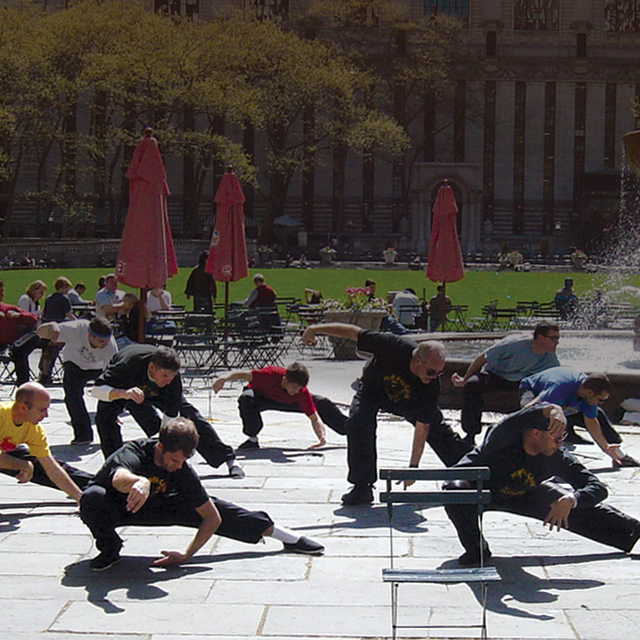 tai chi in bryant park